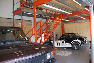 Icon Classic Car Garage - Interior