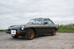 "Celebrating 40 years of the MGB GT ""Jubilee"" News Photo"